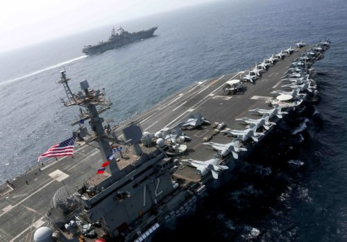 This One Trick Is How Iran Plans to Sink a U.S. Aircraft Carrier