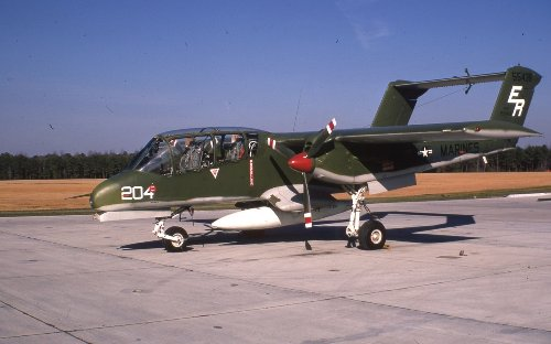 The OV-10A Bronco Was a Vietnam War Hero (and Forest Firefighter)