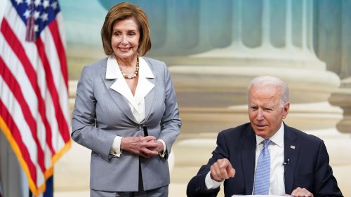 Biden Contradicts Pelosi on How to Shrink $3.5 Trillion Bill | National Review
