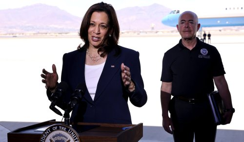 Harris Claims Footage of Border Patrol on Horseback Is Reminiscent of 'Times of Slavery' | National Review