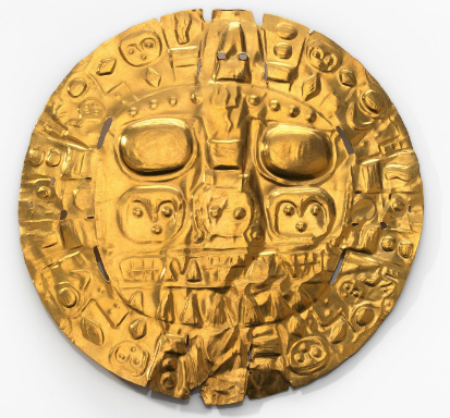 National Museum of American Indian Returns Pre-Inka Gold Disc Held Since 1912 to Peru