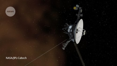 Voyager 1 captures faint ripples in the stuff between the stars