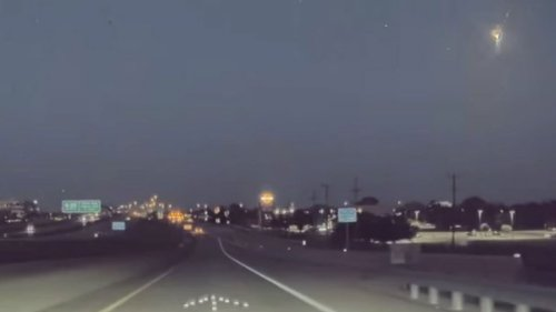 What Was the Bright Flash Over North Texas Sunday Night?