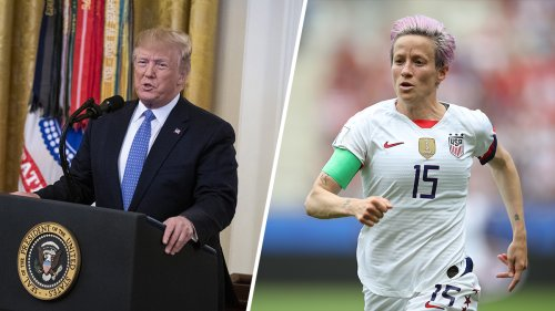 Trump Encourages GOP Crowd to Boo U.S. Women's Soccer Team
