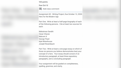 Dallas ISD Apologizes for Assignment That Included Kyle Rittenhouse on 'Hero' List