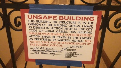 Coral Gables Building Forced To Evacuate