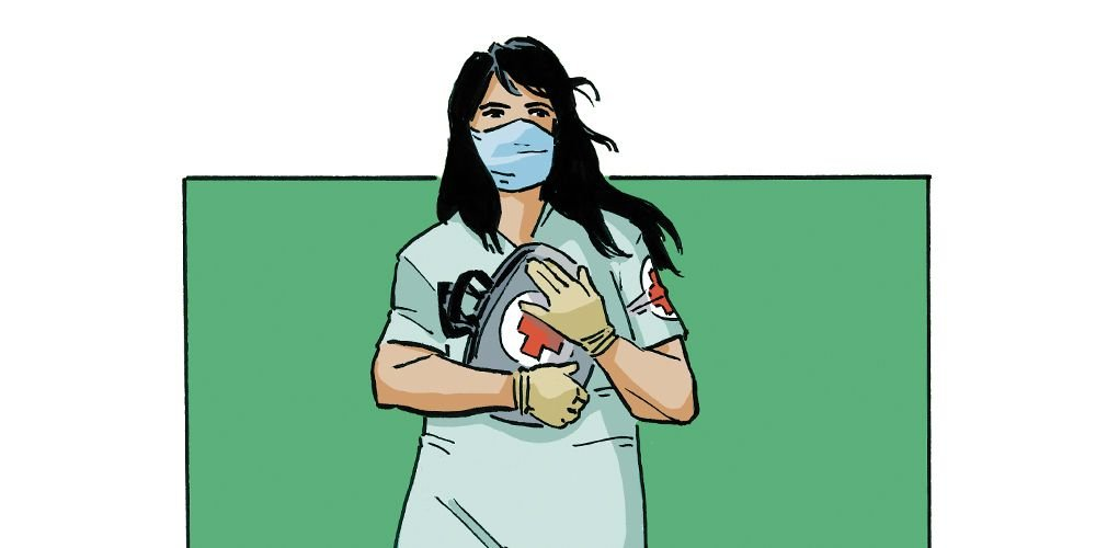Covid Chronicles, Vol. 7: Street medic struggles to keep protesters safe