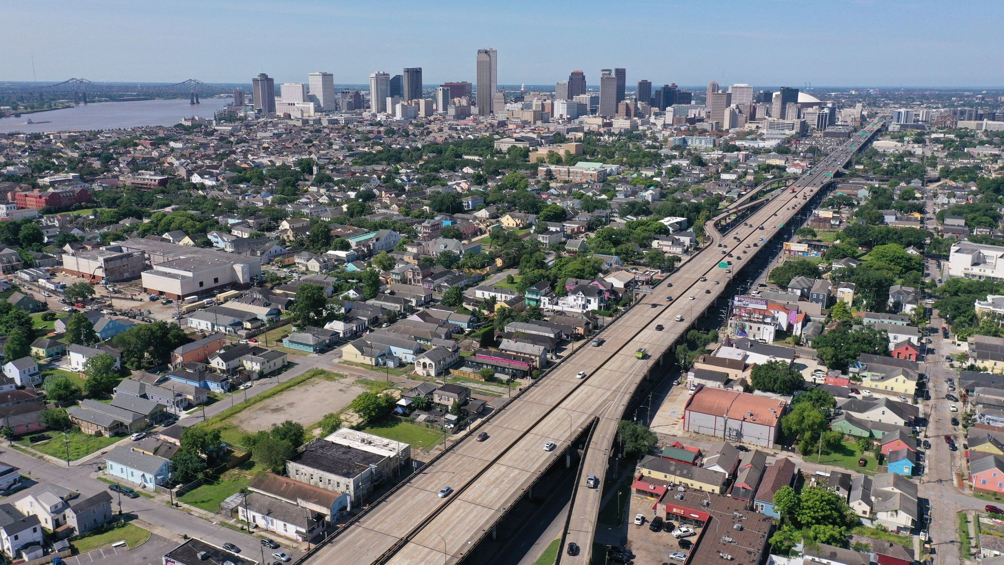 Bulldozed and bisected:  Highway construction built a legacy of inequality