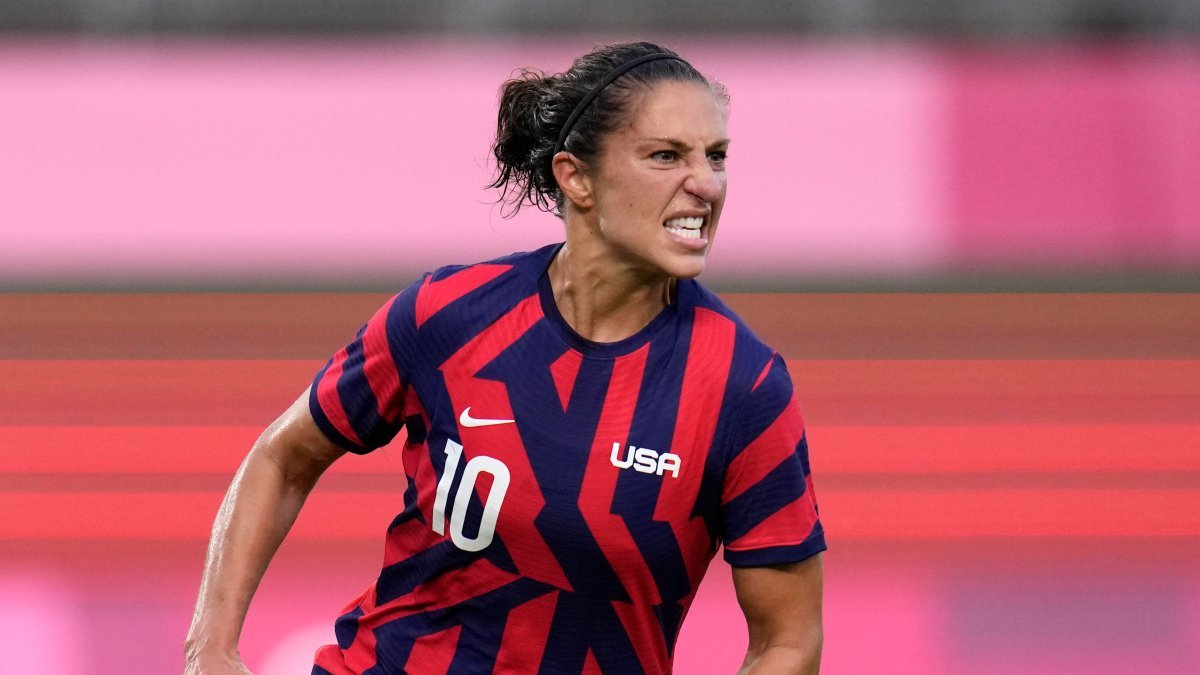 Carli Lloyd Adds to Legacy, Makes History in What Could Be Her Final Olympics