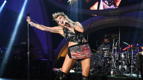 Miley Cyrus Embraces Her Deep Voice, Despite Being Told She Sounds 'Like a Man'
