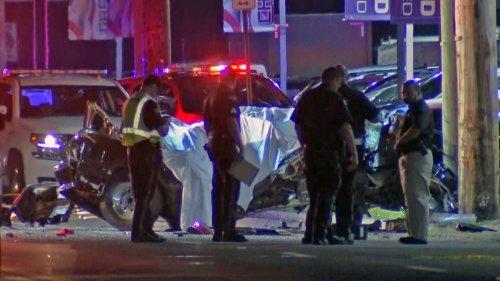 4 Dead in Violent One Car Crash in NJ's Westville