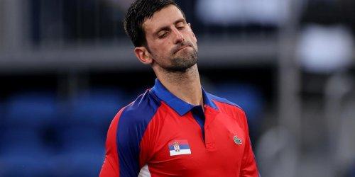 Novak Djokovic Golden Slam Quest Ends at Tokyo Olympics