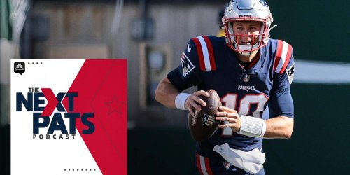 Next Pats podcast: Why Mac Jones hasn't pushed the ball downfield yet