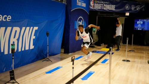 Keon Johnson sets NBA draft combine record with 48-inch vertical leap