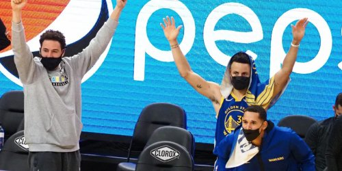 Steph reveals Klay yacht outfit story amid 'positive' rehab
