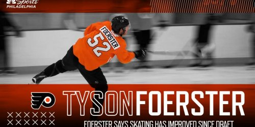 Foerster: 'My skating has improved a lot since' since draft