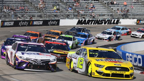 Harvick searches for footing as Wallace finds some; Kyle Busch