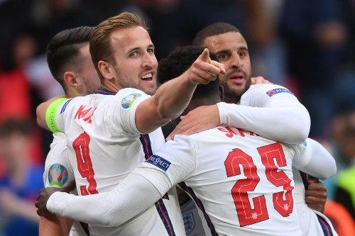 England player ratings v. Czech Republic