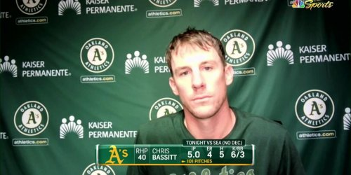 Bassitt frustrated with losses but not ready to overreact