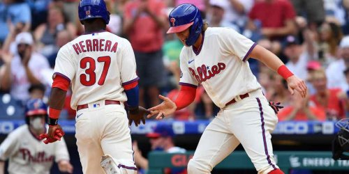Phillies cut down on K's and ride Aaron Nola to sweep Yankees