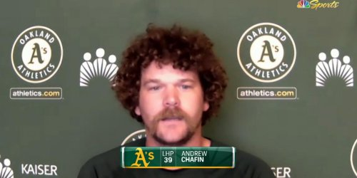 Chafin 'excited' about joining contending A's team