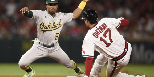 Murphy throwing out Ohtani was turning point in A's win