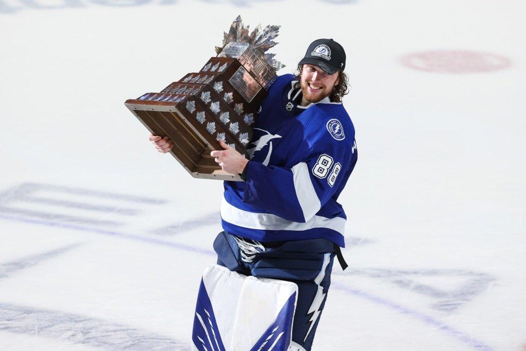 Lightning's Andrei Vasilevskiy wins 2021 Conn Smythe Trophy