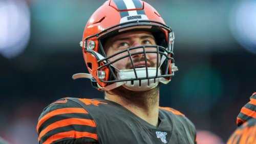 JC Tretter says OTA boycott is not about protecting veteran roster spots