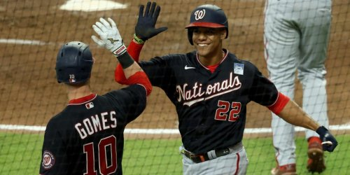 How do the Nats' first 60 games compare to 2020? 2019?