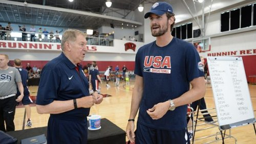 Jerry Colangelo: Kevin Love asked to join Team USA, said he was in shape, wasn't
