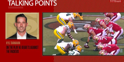 Shanahan reveals the play he regrets against the Packers