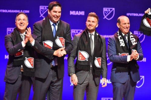 Beckham's Miami MLS team reveals name, logo