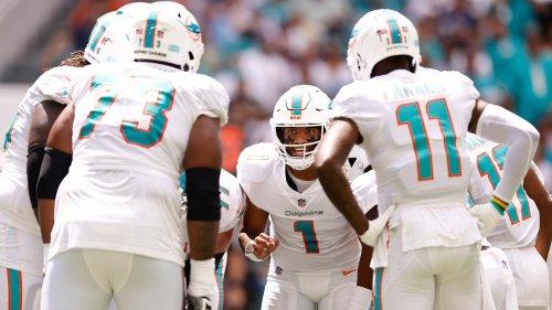 Are the Miami Dolphins able to protect Tua Tagovailoa?