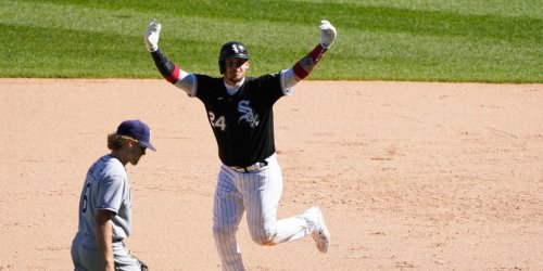 Grandal's walk-off leads Sox to best record in MLB