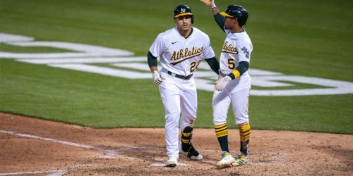 Melvin praises Laureano's five-tool ability after A's win