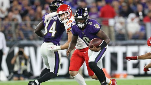 Lamar Jackson receives mental boost; Chiefs must discover how to run