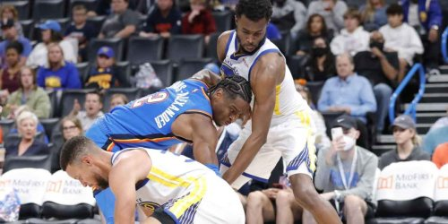 Wiggins goes on the attack, shoves Warriors toward victory
