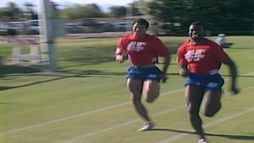 Darrell Green, Herschel Walker, Rod Woodson compete in 1988 NFL