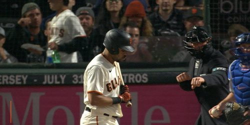 Giants shut out by Dodgers 8-0 after Posey leaves game early