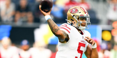 Welcome to NFL: Lance makes 49ers history with TD on first pass