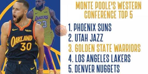 Poole: Warriors will finish regular season ahead of Lakers