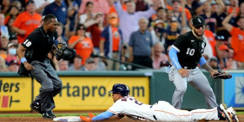 Sox swept by Astros