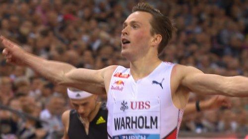 Karsten Warholm wins 2021 Diamond League men's 400m hurdles title