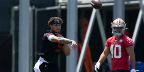 Lance working hard in preparation for 49ers' training camp