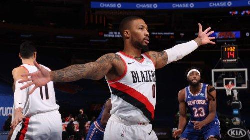 Rumor: Knicks favored to land Damian Lillard *if* Trail Blazers trade him