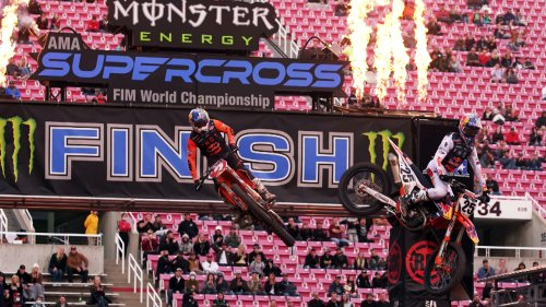 Highlights: Wildest crashes, victories from 2021 supercross season