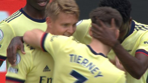 Martin Odegaard free kick gets Arsenal in front of Burnley