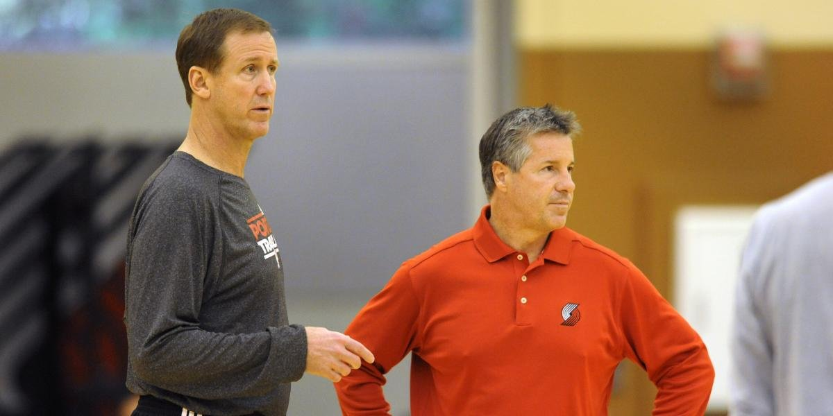 Neil Olshey says Blazers had 'reached a ceiling' with Terry Stotts