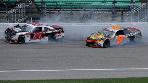 Kansas Xfinity race results, driver points