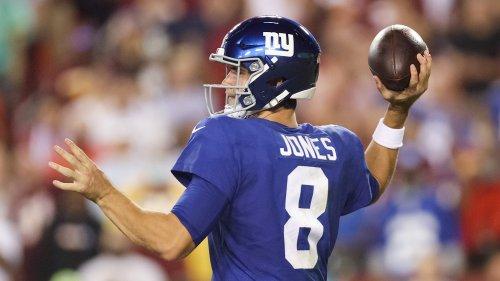 Daniel Jones shows potential with New York Giants
